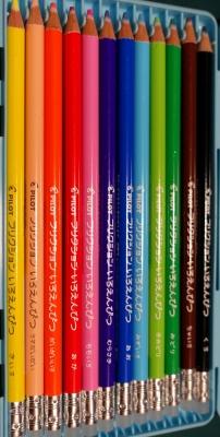 消える色鉛筆1