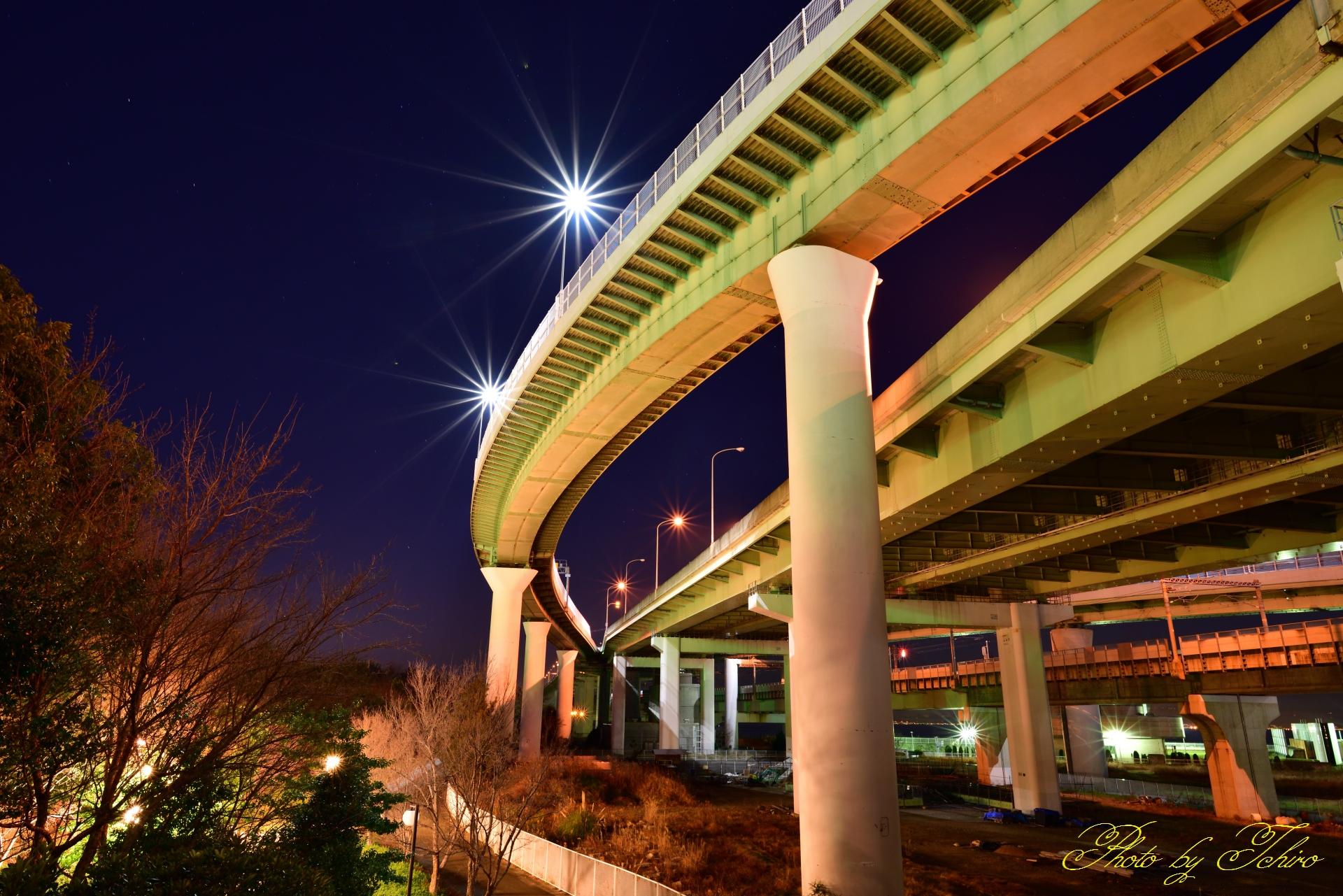 関空連絡橋ジャンクション