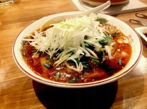 勝浦タンタン麺@越谷ホルモン