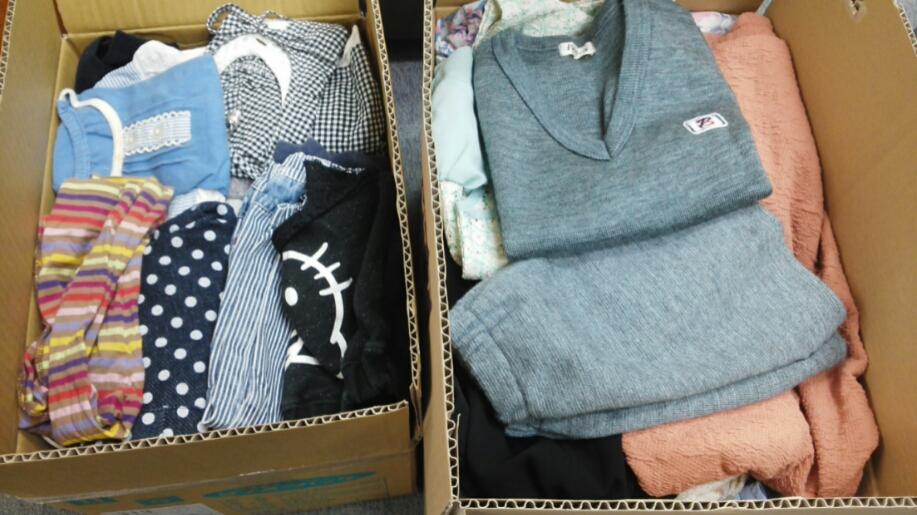 静岡市子ども食堂ネットワークにたくさんの寄付品が届きました