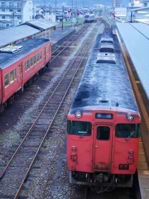 三次駅 キハ40