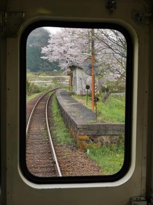 三江線 鹿賀駅