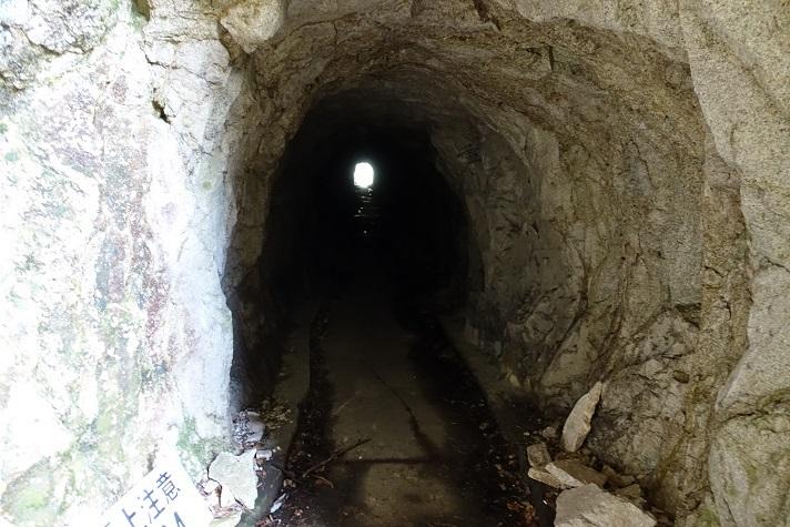15 利用したCコース側のトンネル 13%