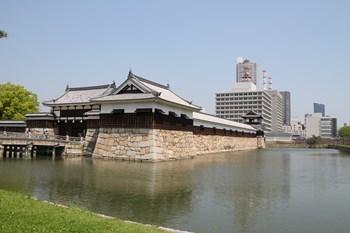 4/30 広島城入口