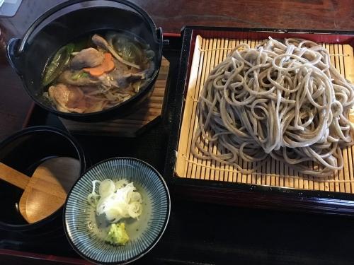 2017-02-26鴨鍋そばセット