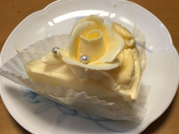 2017-05-03バタークリームケーキ