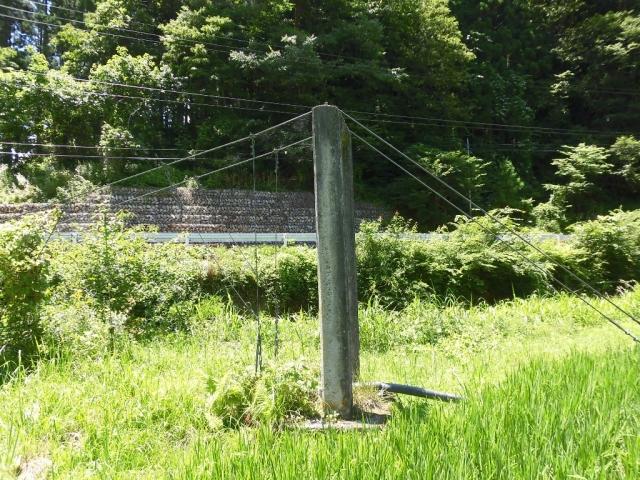 八坂小菅の水管吊橋② (3)