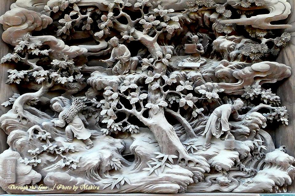 帝釈堂彫刻ギャラリー'千載給仕の図'TZ1