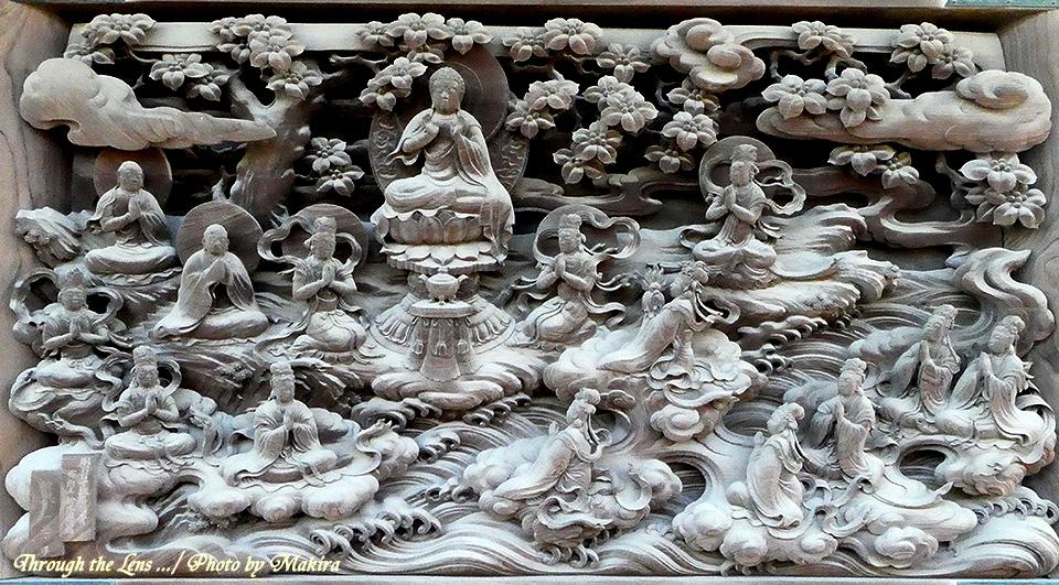 帝釈堂彫刻ギャラリー'龍女成佛の図'TZ1
