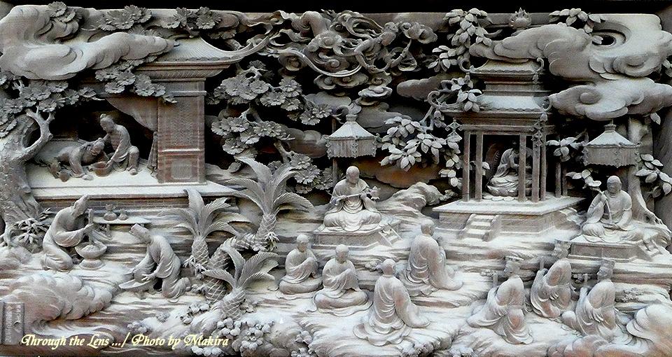帝釈堂彫刻ギャラリー'病即消滅の図'TZ1