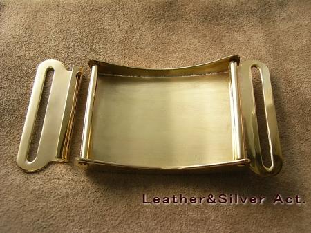 真鍮バックル フック型 03