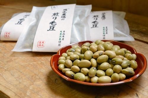 煎り毛豆②