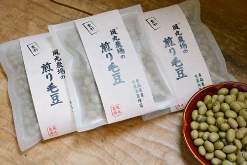 煎り毛豆①
