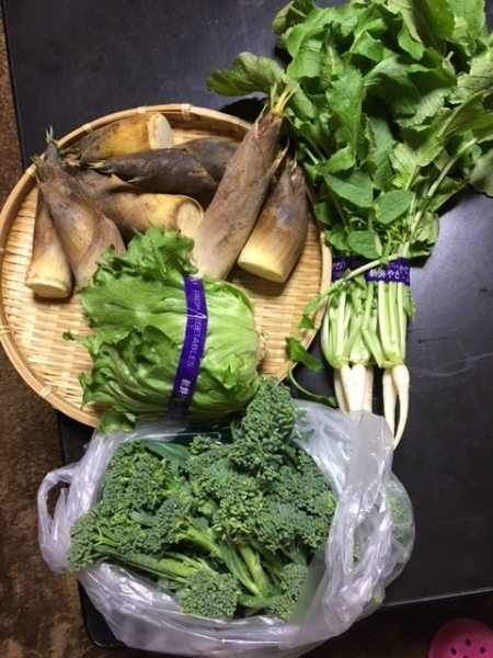 0422買った野菜