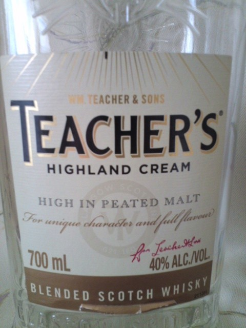 TEACHER'S HIGHLAND CREAM(ティーチャーズ ハイランドクリーム)