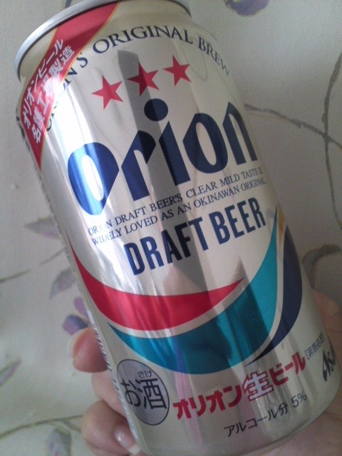 春限定 桜まつりデザイン「Orion DRAFT BEER」