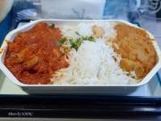 2017/2/16昼食 UL455便(成田-コロンボ)にて