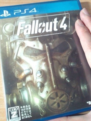 PS4のfallout4