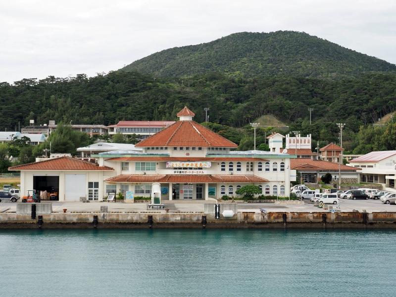 伊平屋島 前泊港