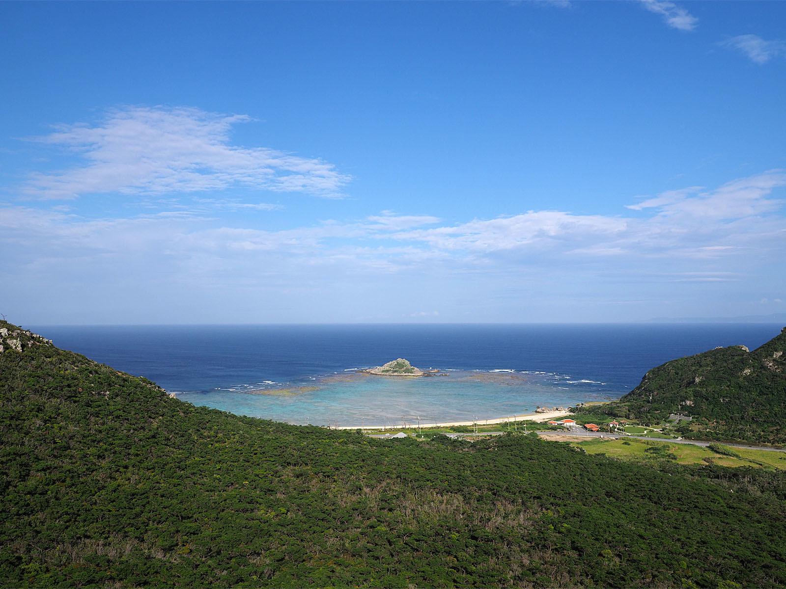 チヂン岳からの眺め