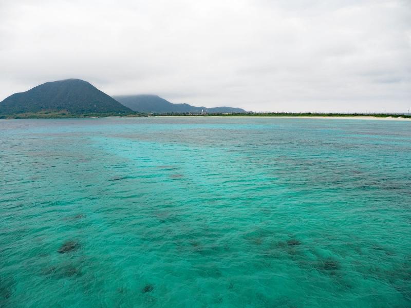 伊平屋島 阿波岳