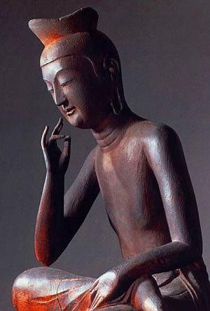 広隆寺弥勒仏