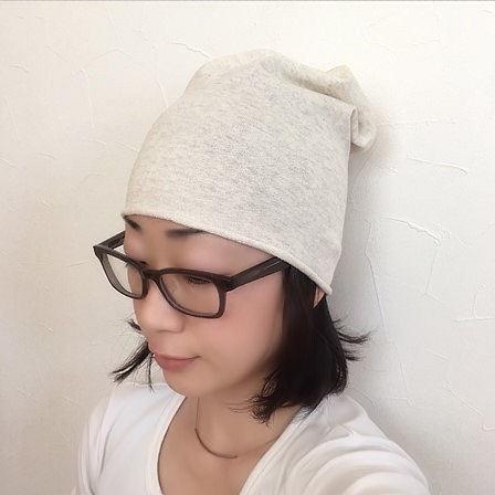 スウェットニット帽1