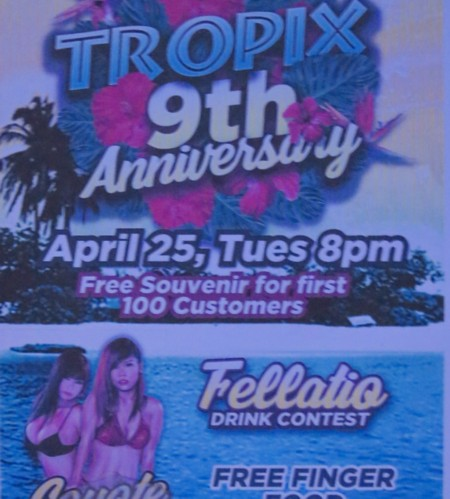 tropix 9th anniversary