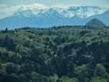 青葉山と蔵王連峰