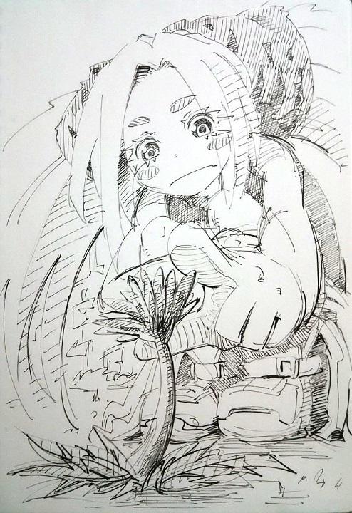 らくがきノケ 20170418 ブログ用