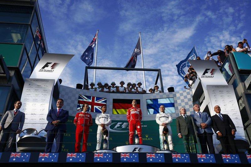 F1オーストラリアGP 決勝レース ハイライト