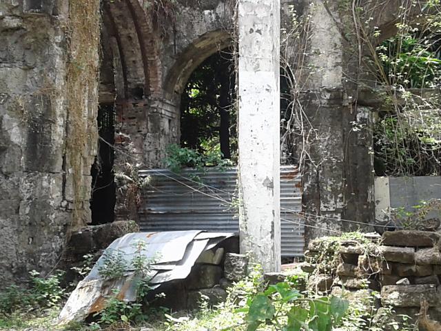 古い建物内側
