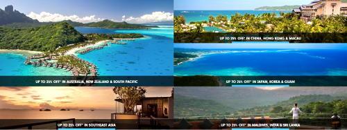 ヒルトンホテル アジア太平洋のリゾートホテルが、25%OFFで販売