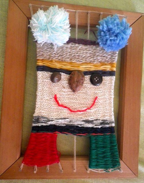 織り遊び・タテの顔