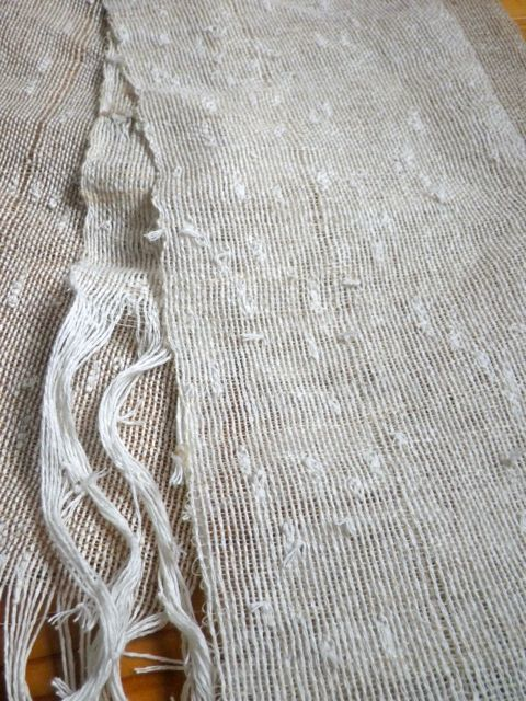 織りすね糸・できあがり