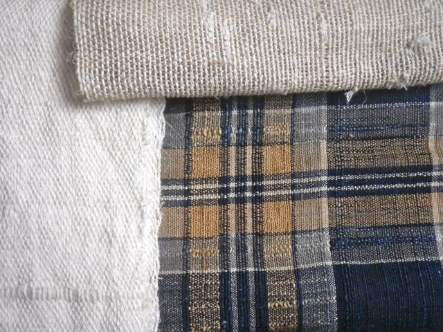 織りすね糸・曾祖母の布と