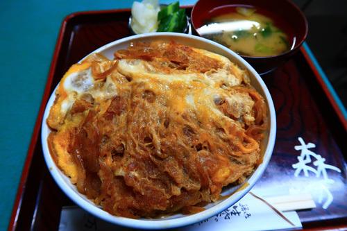 青梅市・森万のTOKYO X カツ丼