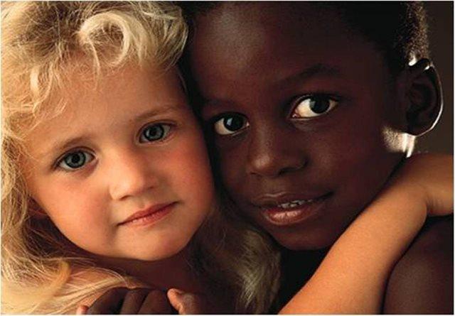 白人と黒人