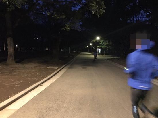 代々木公園夜