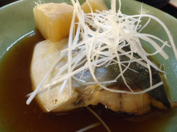 2/22 泰三屋・煮魚定食