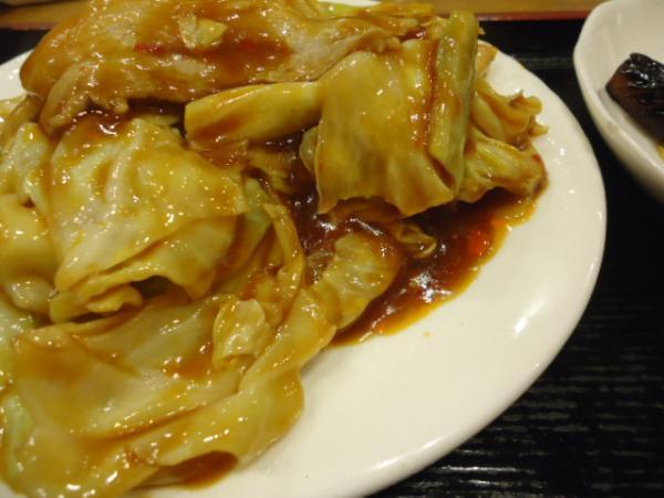 2/25 双龍居・回鍋肉定食