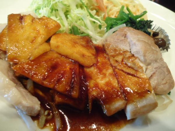 29.3/13 ソフィア・豚肉のパイナップルソース