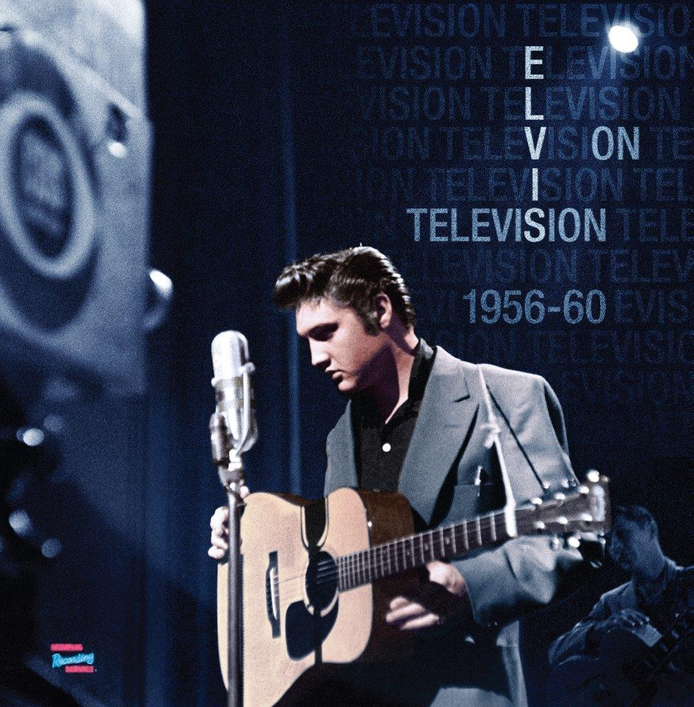 FRONT COVER MRV400056060 - ELVIS ON TELEVISION BV