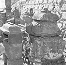 浦島太郎の墓亀型