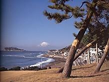 江ノ島富士山稲村ケ崎