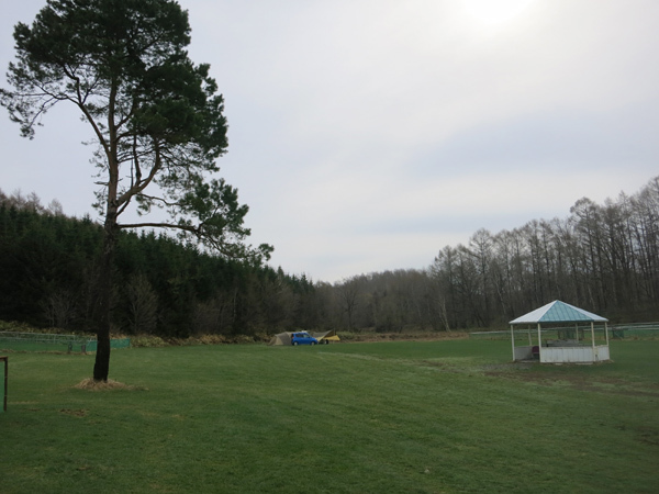 ファミリーパークゴルフ追分キャンプ場 一本松 全景