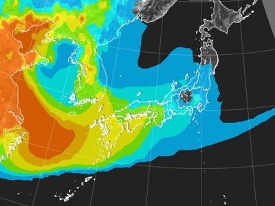 PM25予測(2月26日21時)