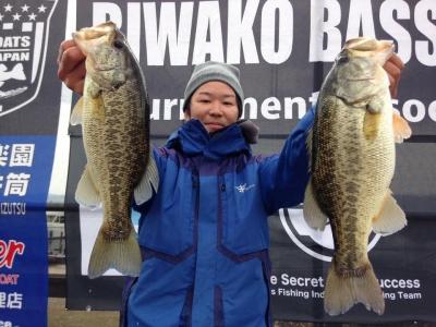 琵琶湖プロトーナメント ウインターフェスティバル 5位 井ノ口亮