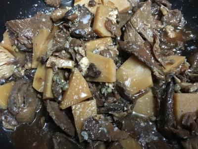 猪肉のしぐれ煮
