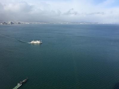 バスフィッシングのボートが1隻もいない琵琶湖南湖